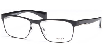 Prada PR61PV FAD101 5516 Matte Black/Black