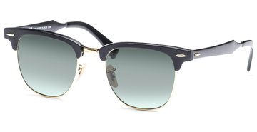Ray-Ban Clubmaster Aluminium RB3507 136/N5 5121 Black/Arista/Polar Green