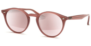 Ray-Ban RB2180 62297E 5121 Opal Antique pink/Pink Mirror Silver Gradient
