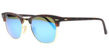 Ray-Ban Clubmaster 3016 114517 5121 Tortoise Shell / Gold