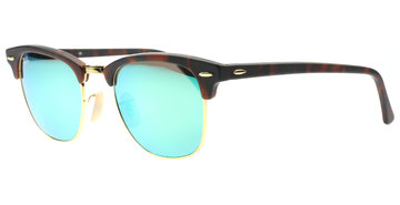 Ray-Ban Clubmaster 3016 114519 5121 Tortoise / Gold