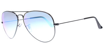 new style 388dc acef0 Ray-Ban Aviator Metal Medium 3025 0024O 5814 Black preiswert bestellen