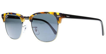Ray-Ban Clubmaster 3016 1158R5 5121 Spotted Blue / Havana