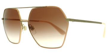 DOLCE&GABBANA 2157 129313 5915 Pink Gold bei Lensbest - Kontaktlinsenversand