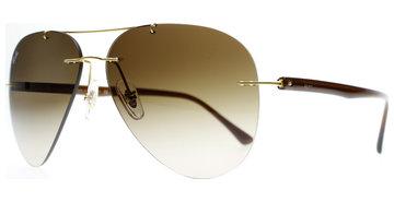 Ray-Ban 8058 157/13 5913 Brushed Gold bei Lensbest - Kontaktlinsenversand