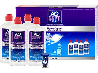 AOSEPT PLUS mit HydraGlyde 4er Set