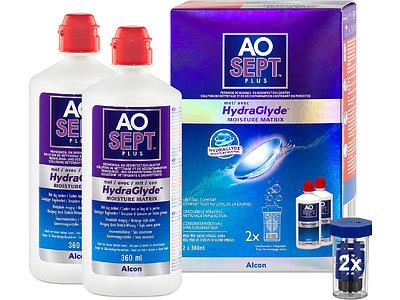 AOSEPT PLUS mit HydraGlyde 2er Set