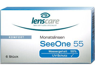 SeeOne 55 Monatslinsen (1x6)