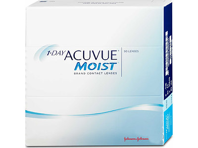 1-Day ACUVUE MOIST (1x90), BC 9,0