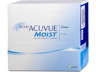 1-Day ACUVUE MOIST (1x180), BC 8,5
