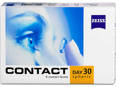 Contact Day30 Spheric (1x6), BC 8,8 (+) / 8,9 (-)