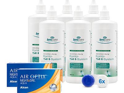 AIR OPTIX NIGHT&DAY AQUA Kombi-SH-System 6er Set