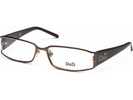 DOLCE&GABBANA Logo Evolution DD5010 099 5216 Brown with Brown Temp