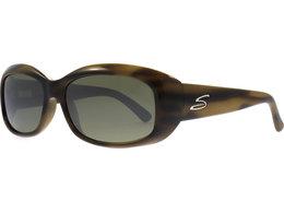 Serengeti Bianca Sonnenbrille Glitter Tortoise Bianca Polarisiert 55mm Qn1aX